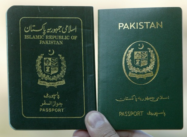 Pakistan passport e-passport biometric passport trafficking forgery of passport documents India