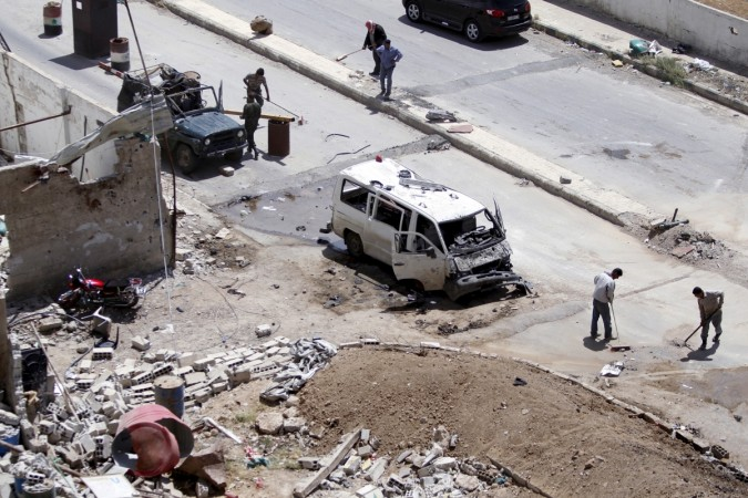 car blast in Syria