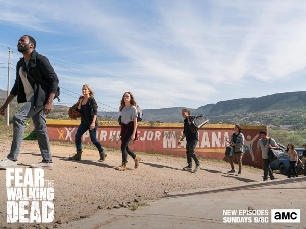 Which two characters will die in the upcoming episode of 'Fear the Walking Dead'?