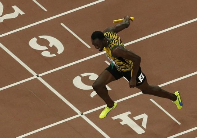 Usain Bolt Jamaica World Athletics Championships