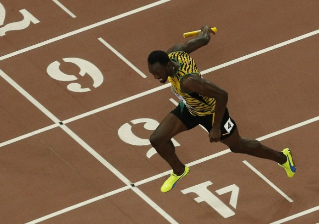 Usain Bolt Jamaica World Athletics Championships