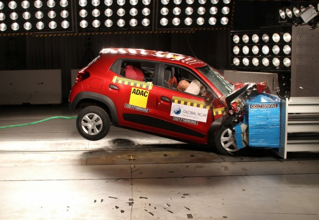 Renault Kwid NCAP crash test