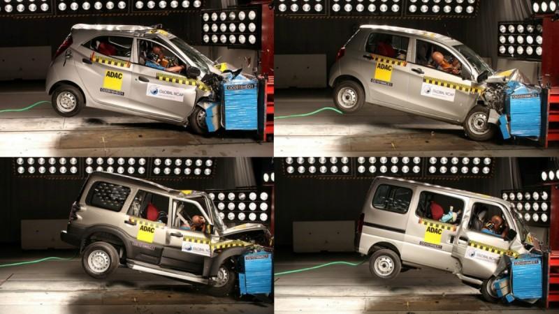 Global NCAP crash test