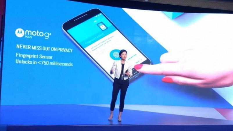 Moto G4 Plus launch event