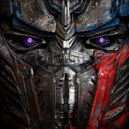 'Transformers 5' logo and title