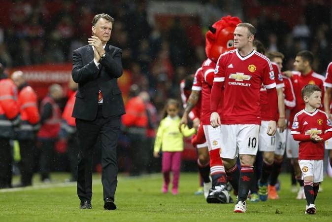 Louis Van Gaal Wayne Rooney Manchester United