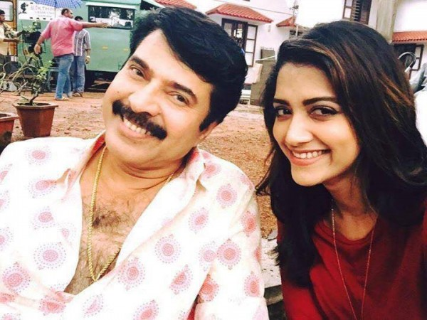 Mammootty and Mamta Mohandas in 'Thoppil Joppan'