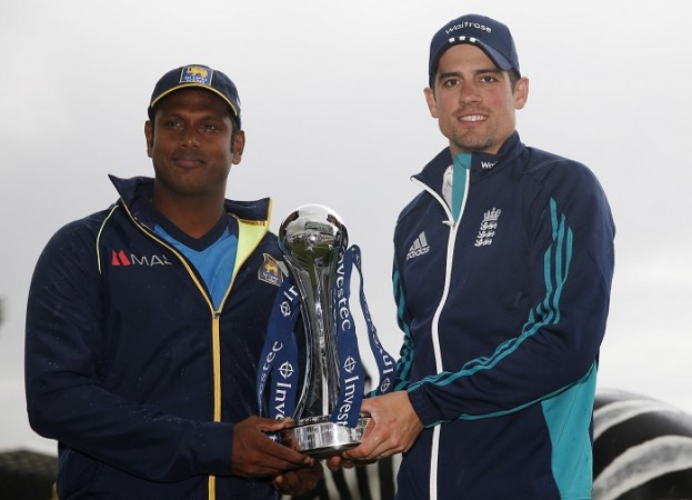 Angelo Mathews Alastair Cook