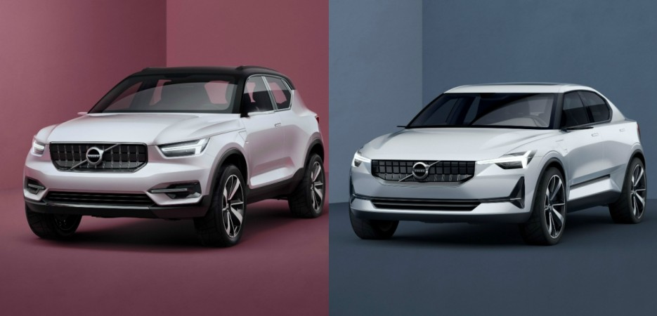 Volvo Concept 40.1, Concept 40.2 previews design of future small cars