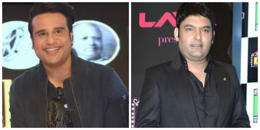 Krushna Abhishek and Kapil Sharma