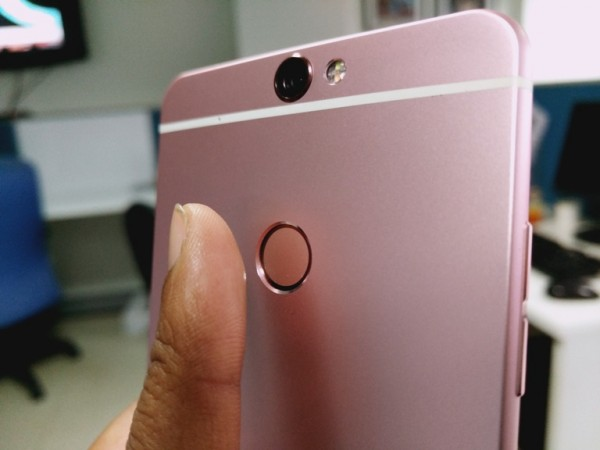 Coolpad Max review: Fingerprint sensor