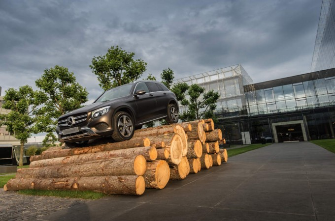Mercedes-Benz GLC SUV to be launched in India on June 2