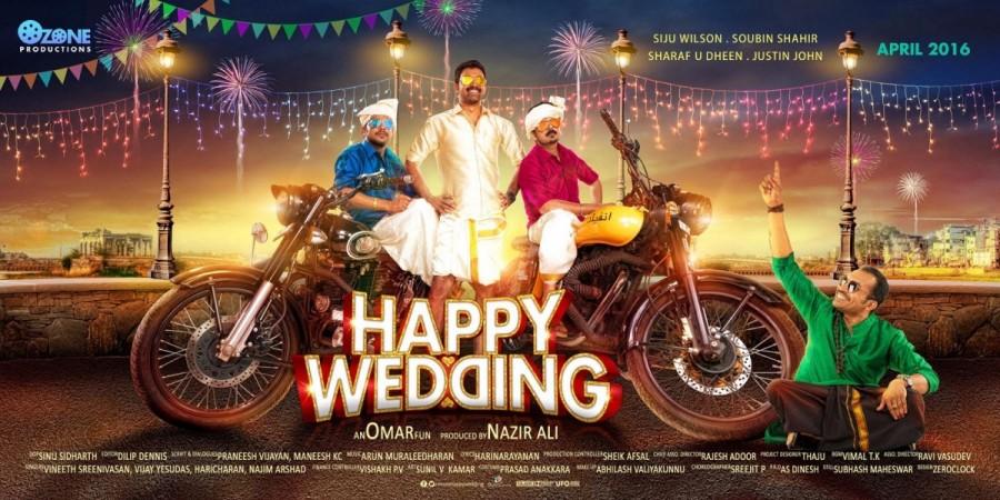 'Premam' boys in 'Happy Wedding'