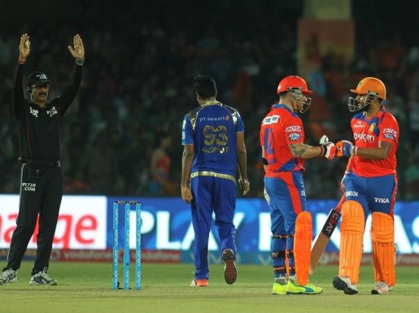 McCullum Raina Gujarat Lions Mumbai Indians