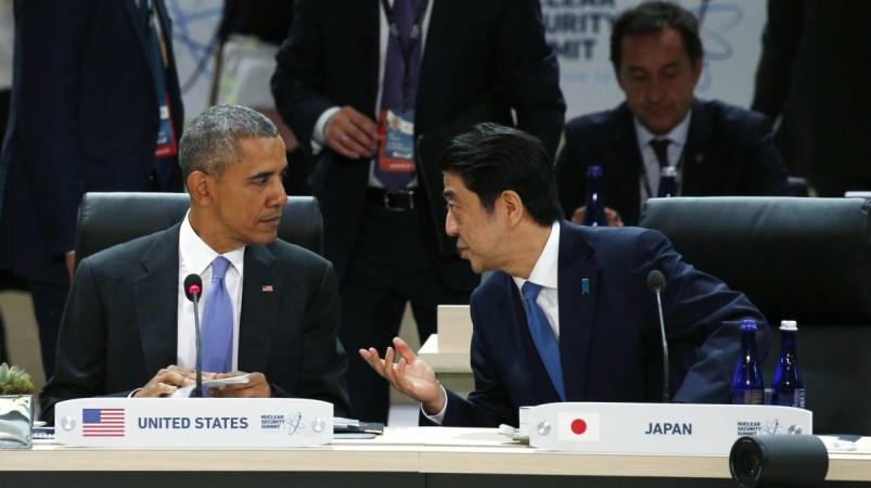 Shinzo Abe Barack obama