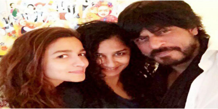 Alia Bhatt, Gauri Shinde, Shah Rukh Khan
