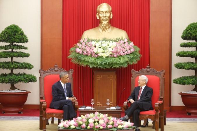 Obama visit to Vietnam