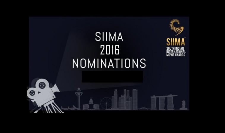 SIIMA 2016 Nomination List (Malayalam)