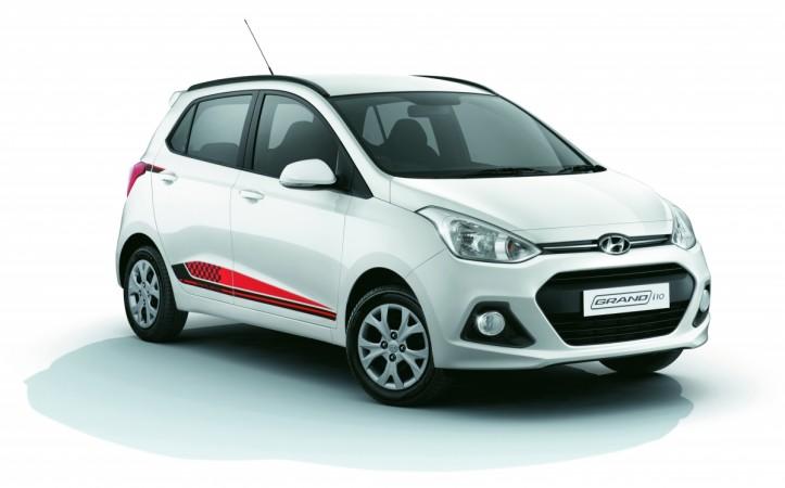Hyundai Grand i10 20th anniversary special edition