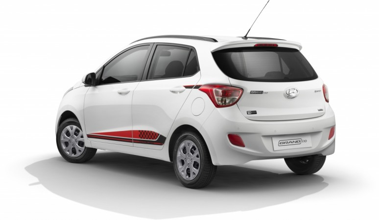 Hyundai Grand i10 20th anniversary special edition available only on the mid-level trim — SportZ