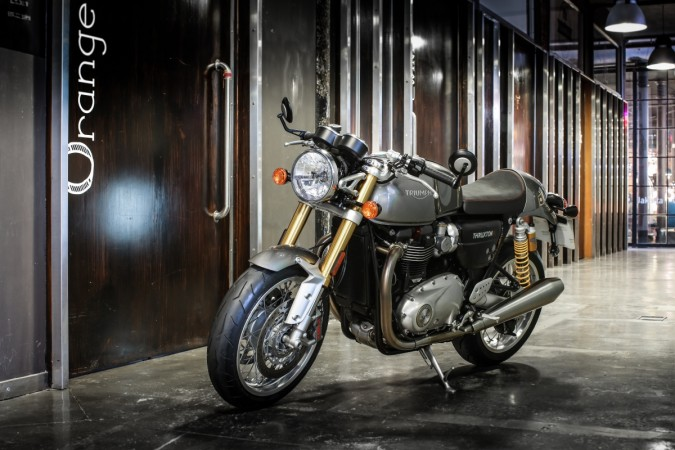 Triumph Thruxton R to be launched in India on June 3