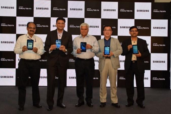 Samsung launches Aadhaar-compliant Galaxy Tab Iris in India