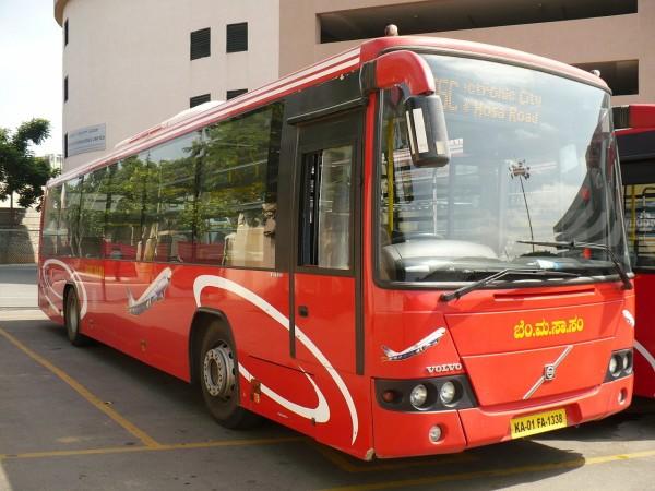volvo bangalore bus