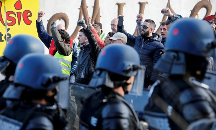 France labour reform strikes