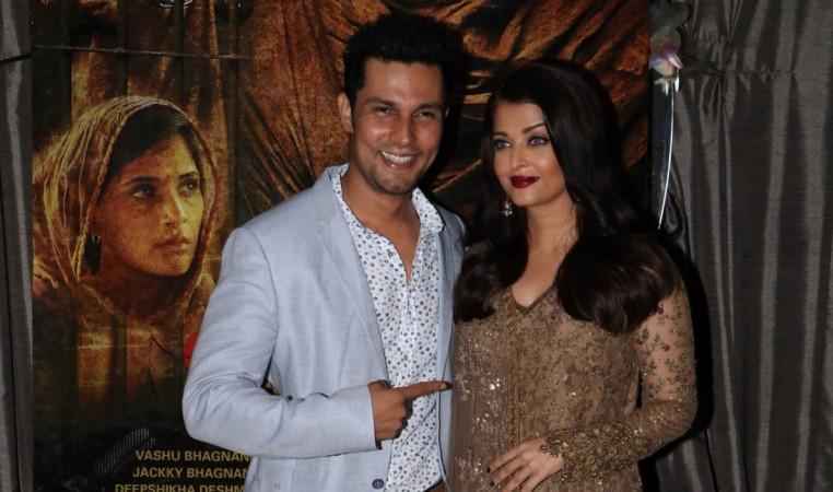 Randeep Hooda, Aishwarya Rai Bachchan at
