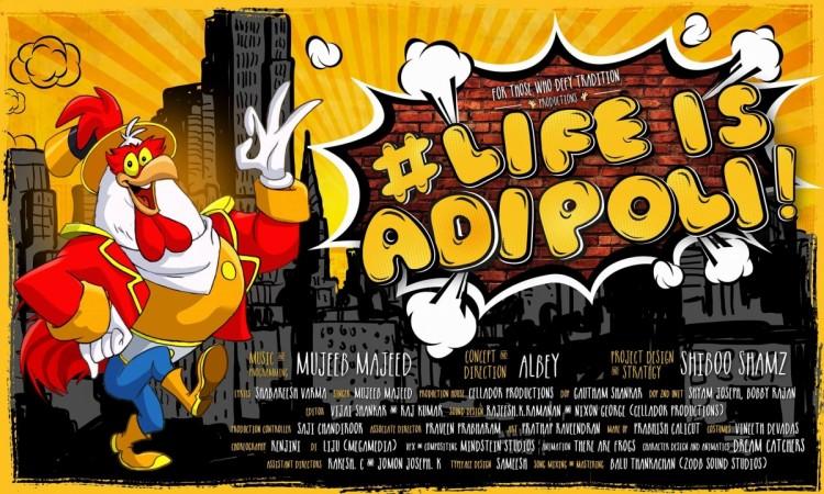 Life is Adipoli music video