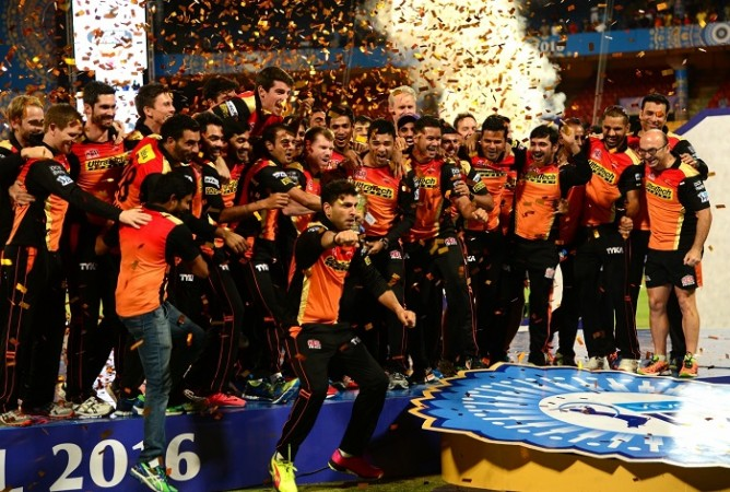 Yuvraj Singh SRH IPL 2016 title