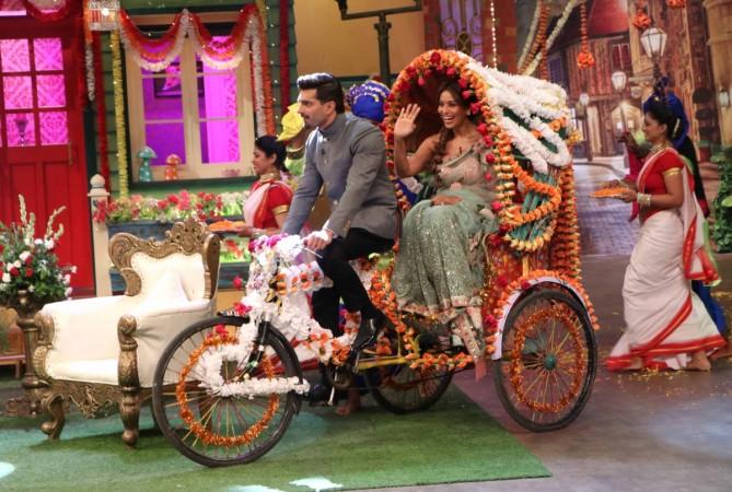 Karan Singh Grover and Bipasha Basu on 'The Kapil Sharma Show'