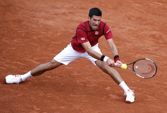 Novak Djokovic French Open 3rd round