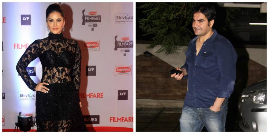 Sunny Leone and Arbaaz Khan