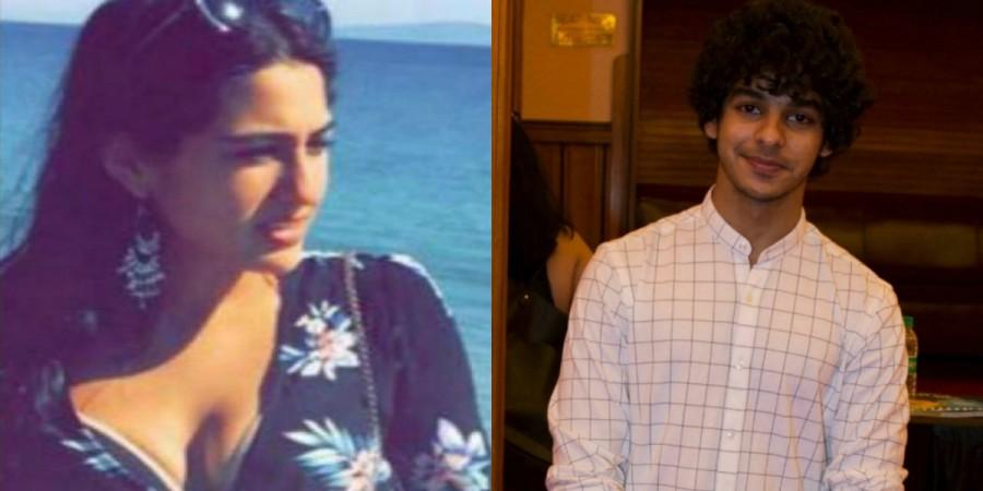 Sara Ali Khan and Ishaan Khattar