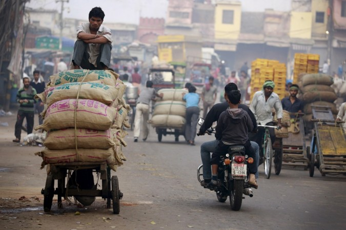 Labourer India