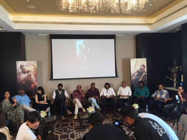 'Bahubali' team interacts with Chinese media