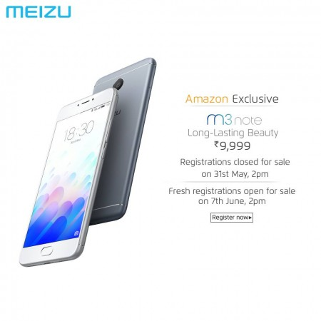 Meizu M3 Note price, flash sale details: When can you buy the budget smartphone next?