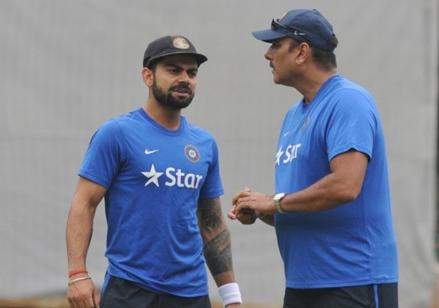 Image result for Kohli, Shastri