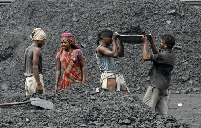 coal india mining production offtake output coal india share price cil miner