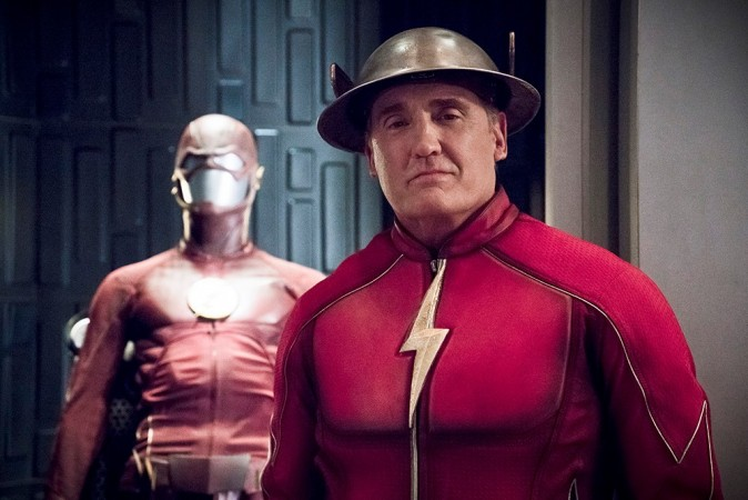 "Jay Garrick was revealed to be the Flash of Earth-3 in ""The Flash"" Season 2 finale"
