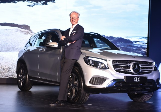 Mercedes-Benz GLC priced starting at Rs. 50.7 lakh