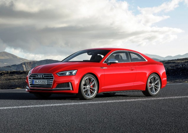 New Audi A S Coupe Break Cover IBTimes India - Audi a5 car cover