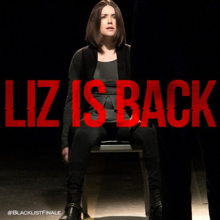 Megan Boone as Liz in 'The Blacklist'