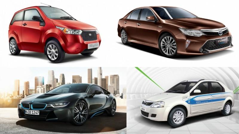 Electric, hybrid cars