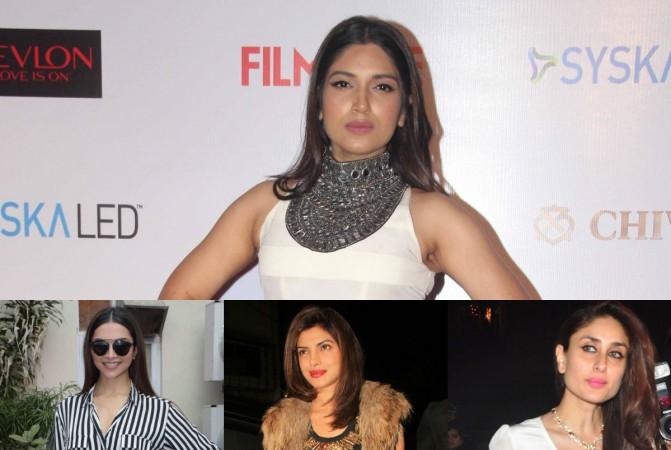 Bhumi Pednekar, Deepika Padukone, Priyanka Chopra and Kareena Kapoor Khan