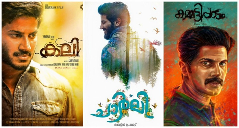 Check box office collection report of 'Charlie', 'Kali' and 'Kammatipaadam