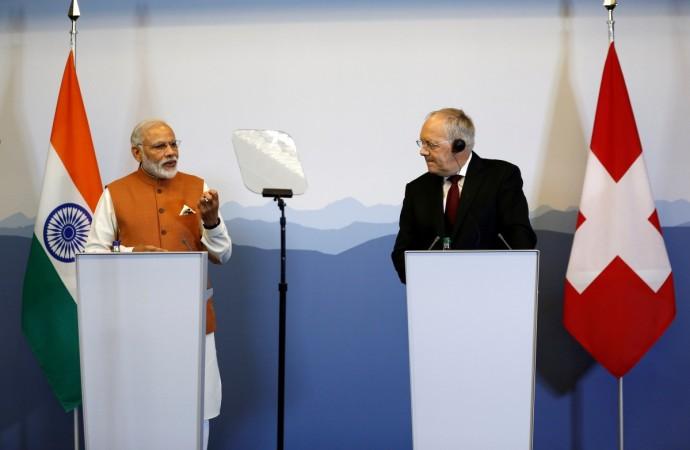 Modi and Swiss President