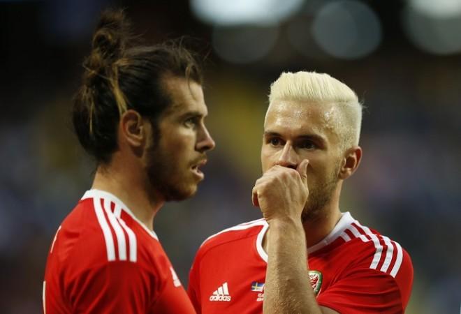 Gareth Bale Aaron Ramsey Wales