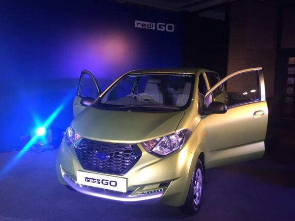 Datsun's most affordable car redi-Go launched at Rs. 2.38 lakh